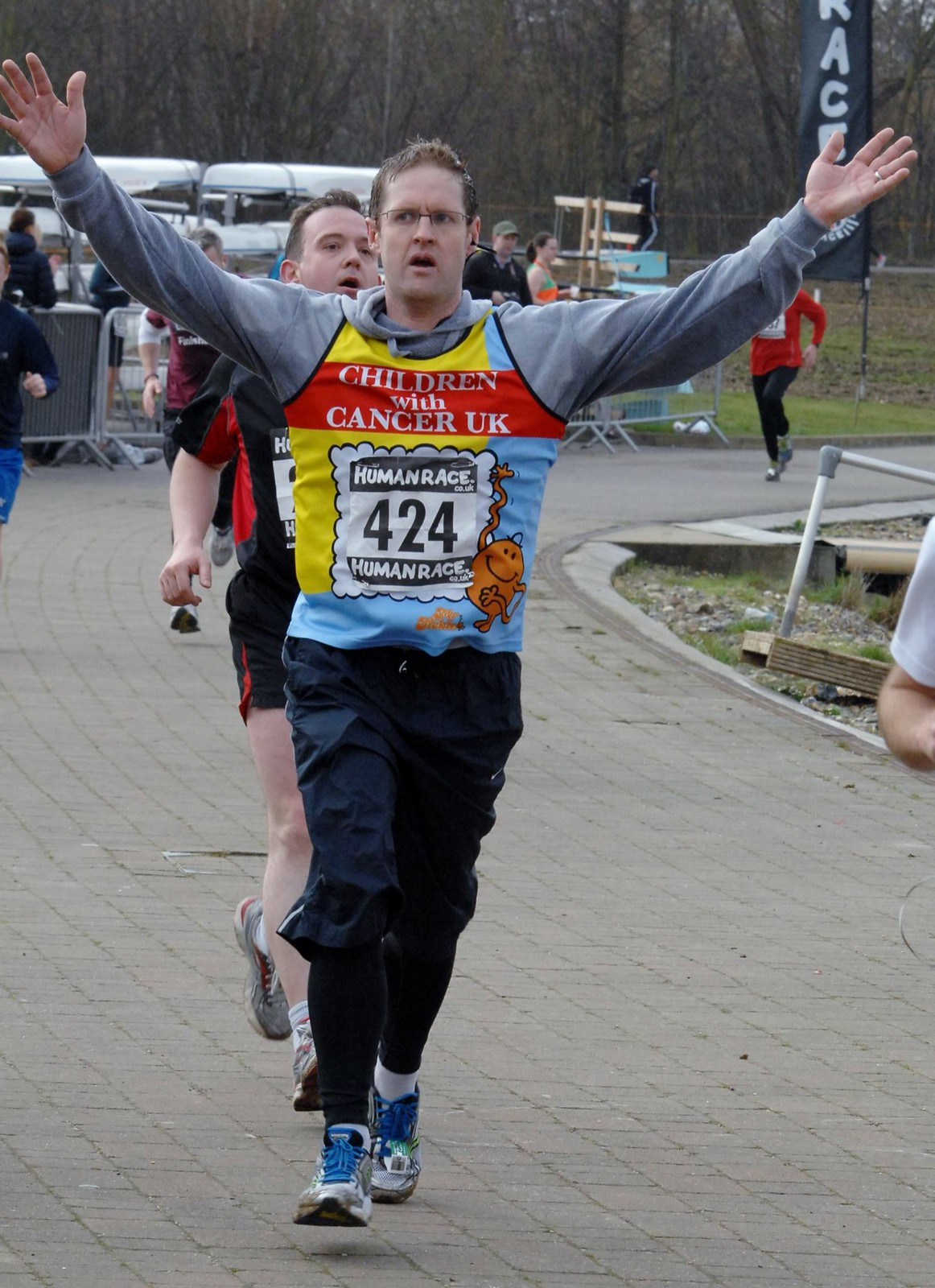 LSN people run the 2013 London Marathon »