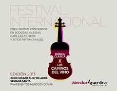 Canje de entradas para los conciertos de Música Clásica por los Caminos del Vino