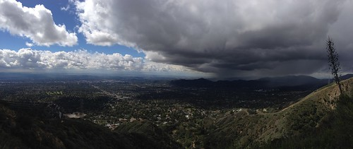 Panorama of weather