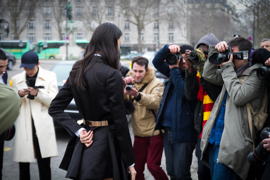 Tuukka13 -  Moods and People Outside Dior Womens FW 13 RTW Show - Paris Fashion Week -12