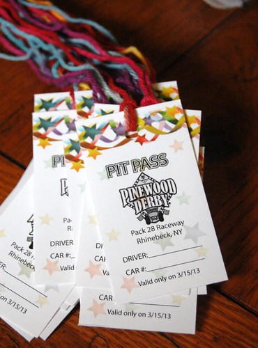 pinewood derby pit passes