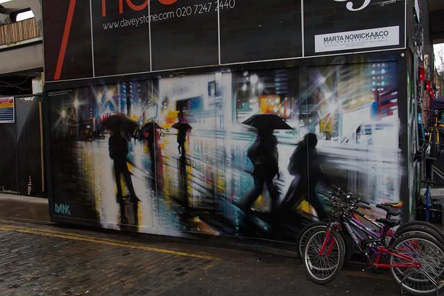Rainy Street Art