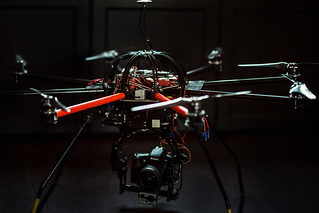 Octocopter for Aerial Video