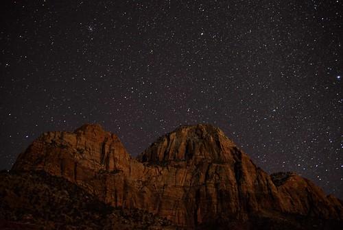 sky mountains southwest nature night stars landscape utah nikon desert zionnationalpark constellations astrology starrynight coth supershot 2013 absolutelystunningscapes damniwishidtakenthat d800e dailynaturetnc13
