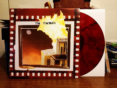 The Thermals - More Parts Per Million LP - Red Vinyl by Tim PopKid