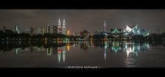 KL City at Night | Panorama
