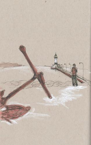 20130224 LSDR_Canal Park_Gabi pier anchor