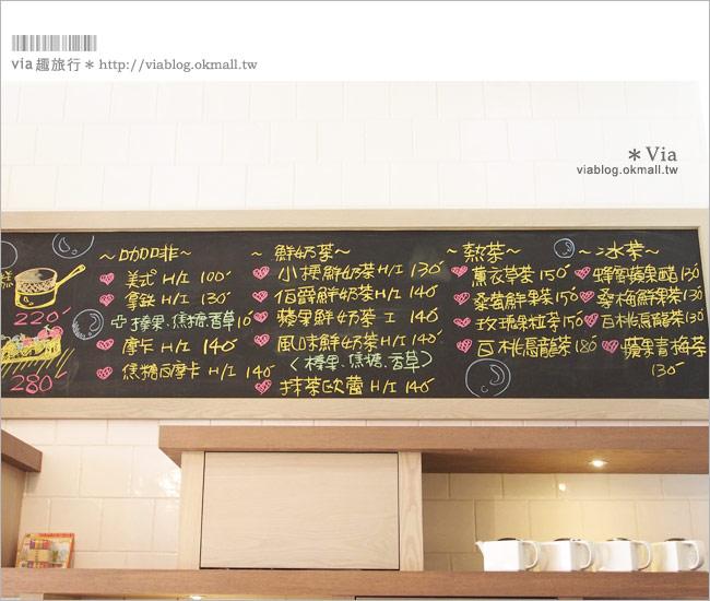 【台中咖啡廳】台中甜點推薦~小梗甜點咖啡!超好吃的季節&每日限定草莓千層!25