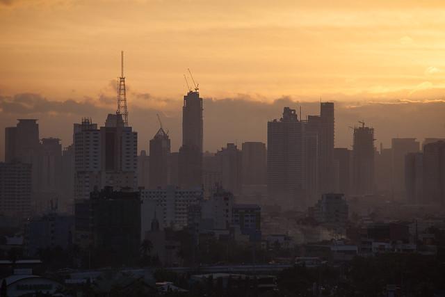 View from Manila Sofitel 3