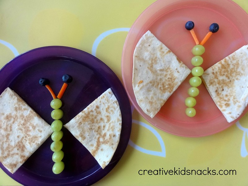 Butterfly Quesadilla by Creative Kids Snacks