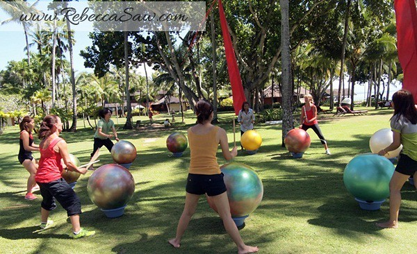 Rebecca saw 1Club Med Bali - Body and Soul - Four Colors in Four Days rebecca 1