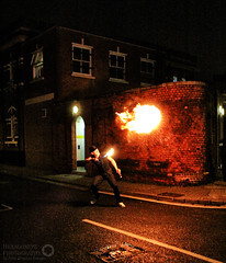 Fire Breathing - Albert Road