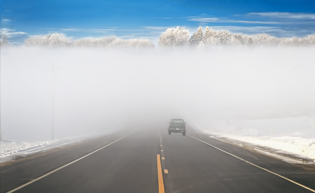 Ice Fog in Minnesota