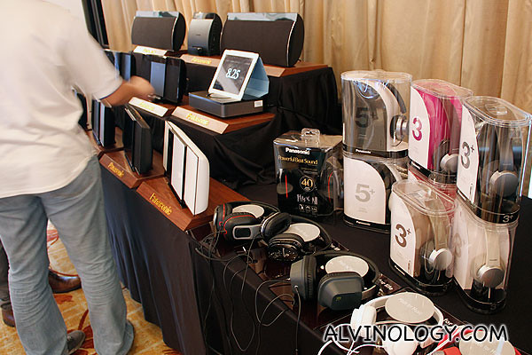 Speakers, headphones, docking stations and other audio products