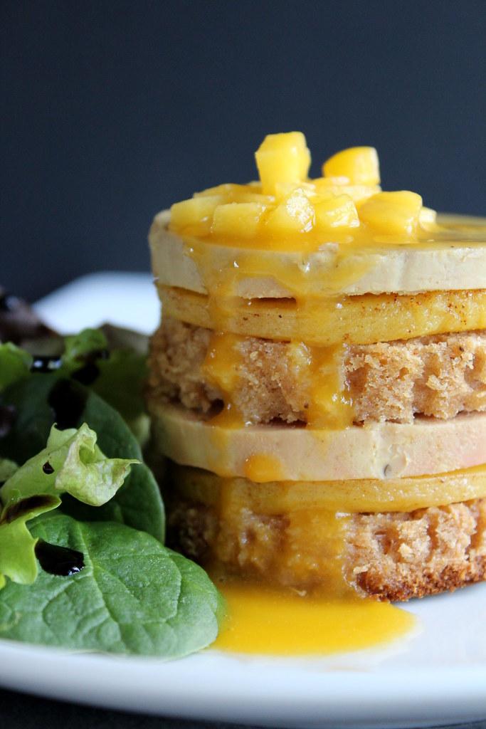 Entrée: sublimer le foie gras