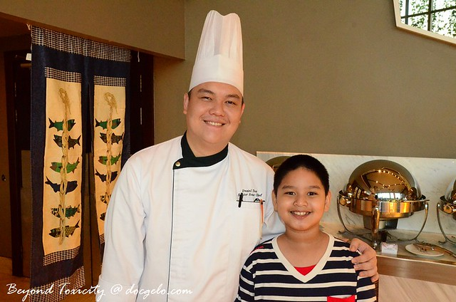 Senior Sous Chef Daniel Tan & Gabby