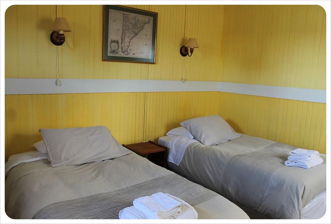 yendegaia hosteria porvenir beds