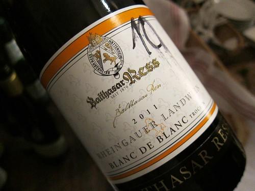 2011 Rheingauer Landwein Blanc de Blanc trocken Ress