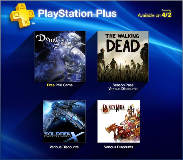 PlayStation Plus Update - April 2013