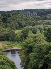 View from Pontcysyllte Aqueduct