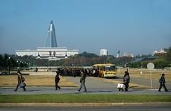 Street scene Pyongyang