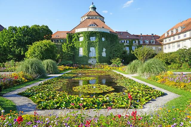 La jardin botanique de Munich (Allemagne)