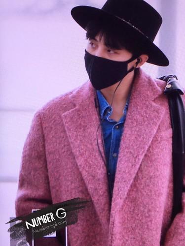 Big Bang - Incheon Airport - 21mar2015 - G-Dragon - Number G - 02