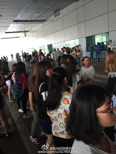 BIGBANG Arrival Dalian from Seoul 2015-06-26 160