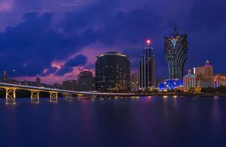 Macau & Blue Hour