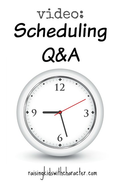 [Video] Wondering Wednesday: Scheduling Q&A