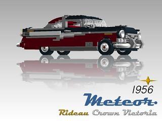 Meteor Rideau Crown Victoria - 1956