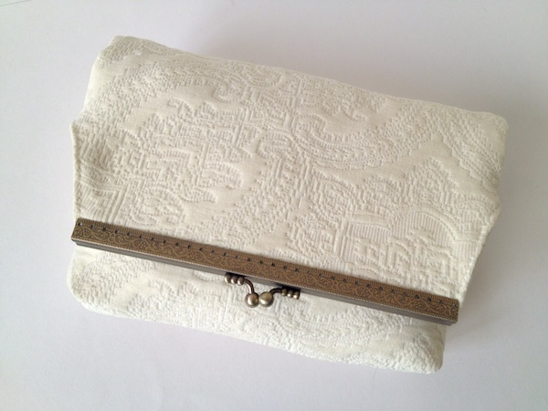 Foldover Framed Clutch 14