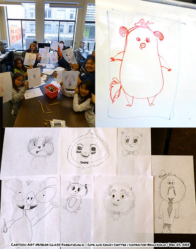 Cartoon Art Museum Winter 2012/2013: Parent/Child Cute and Crazy Critters