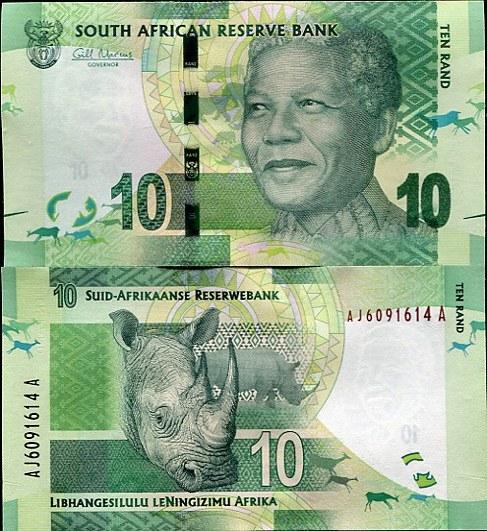 10 Randov Južná Afrika 2012, Mandela