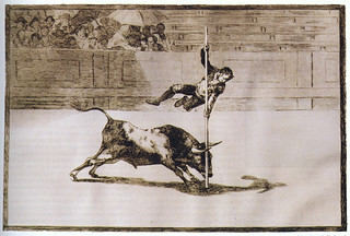 In 1999, Montgomery Gallery (now Pomona College Museum of Art) obtained a first-edition set of Goya's La Tauromaquia (Bullfight, 1816) etchings. This acquisition completed a first-edition set of all of Goya's four etching series.