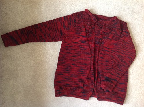 WWFY Sweater finished! by gradschoolknitter