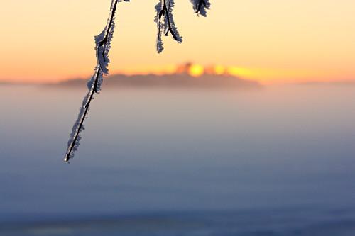winter sunset snow ice finland landscape scenery finnish vaasa winterscape vasa solnedgång auringonlasku sunset20130109