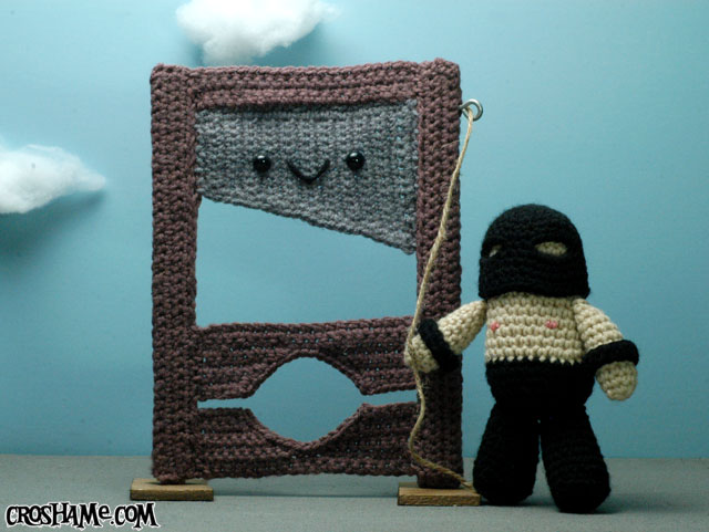 Gilly the Guillotine and Henri the Executioner