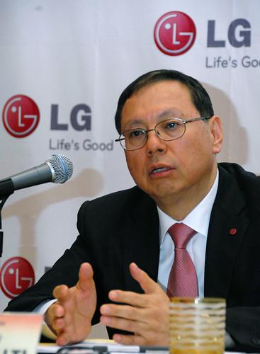 LG전자 HA사업본부장 조성진 사장