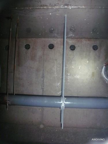 Nieuwe ophanging door Duikbedrijf AWDIVING.