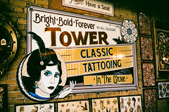Tower Classic metal sign