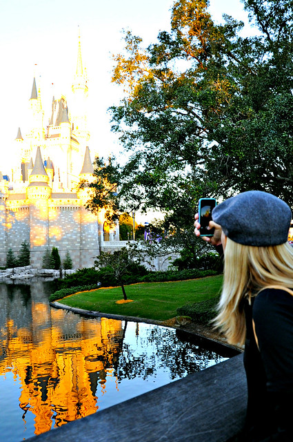 Reflection at Cinderella's Castle