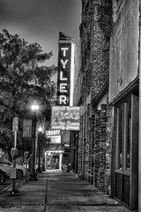 Tyler Theater Sign