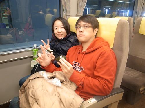搭HARUKA前往京都