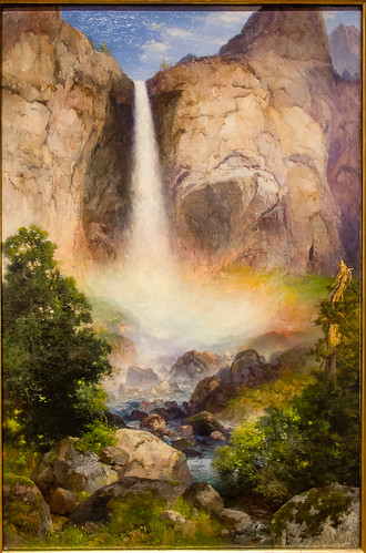 museum painting virginia artwork artist unitedstates fineart richmond museumoffinearts thomasmoran virginiamuseumoffinearts bridalveilfallyosemitevalley