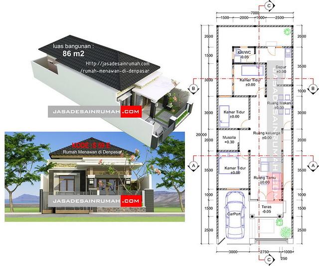 rumah menawan di denpasar jasa desain rumah