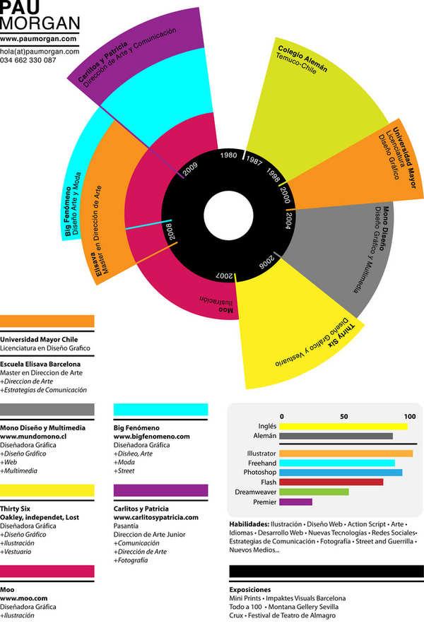 Ejemplos De Formatos De Curriculum Vitae Creativos Y Diferentes