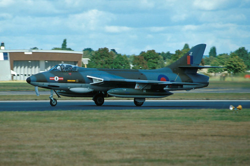 Hawker Hunter F.6A XF516 / G-BVVC
