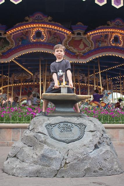 Magic Kingdom Sword in the Stone