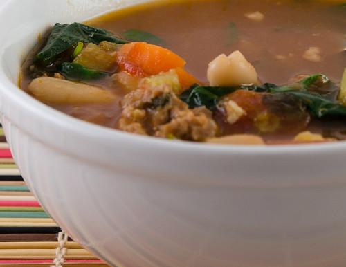 Sausage Soup 1